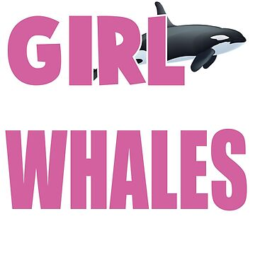 All This Girl Cares About Is Whale Passion Animal T-Shirt by kevin296