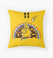 GOODLUCK Throw Pillow