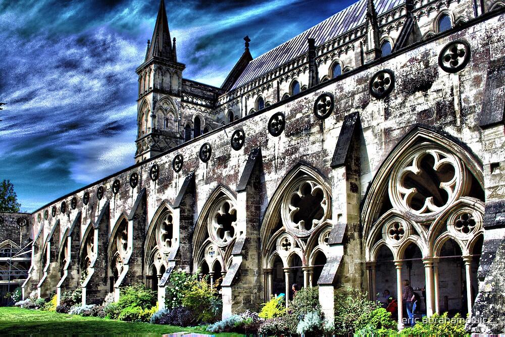 Salisbury cathedral 4 by eric abrahamowicz