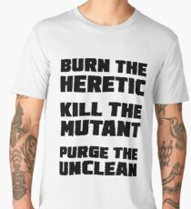 Burn the Heretic Men's Premium T-Shirt