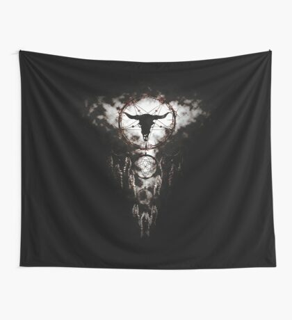 Summoning circle pentagram - Dreamcatcher Wall Tapestry