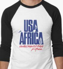 We Are the World Men's Baseball ¾ T-Shirt