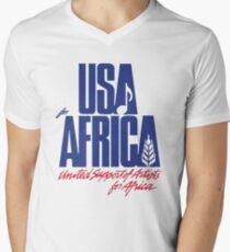We Are the World Men's V-Neck T-Shirt