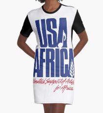 Wir sind die Welt T-Shirt Kleid