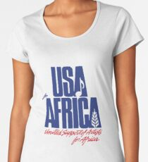 We Are the World Women's Premium T-Shirt