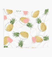 Pineapples & Pine Cones #redbubble #decor #buyart Wall Tapestry