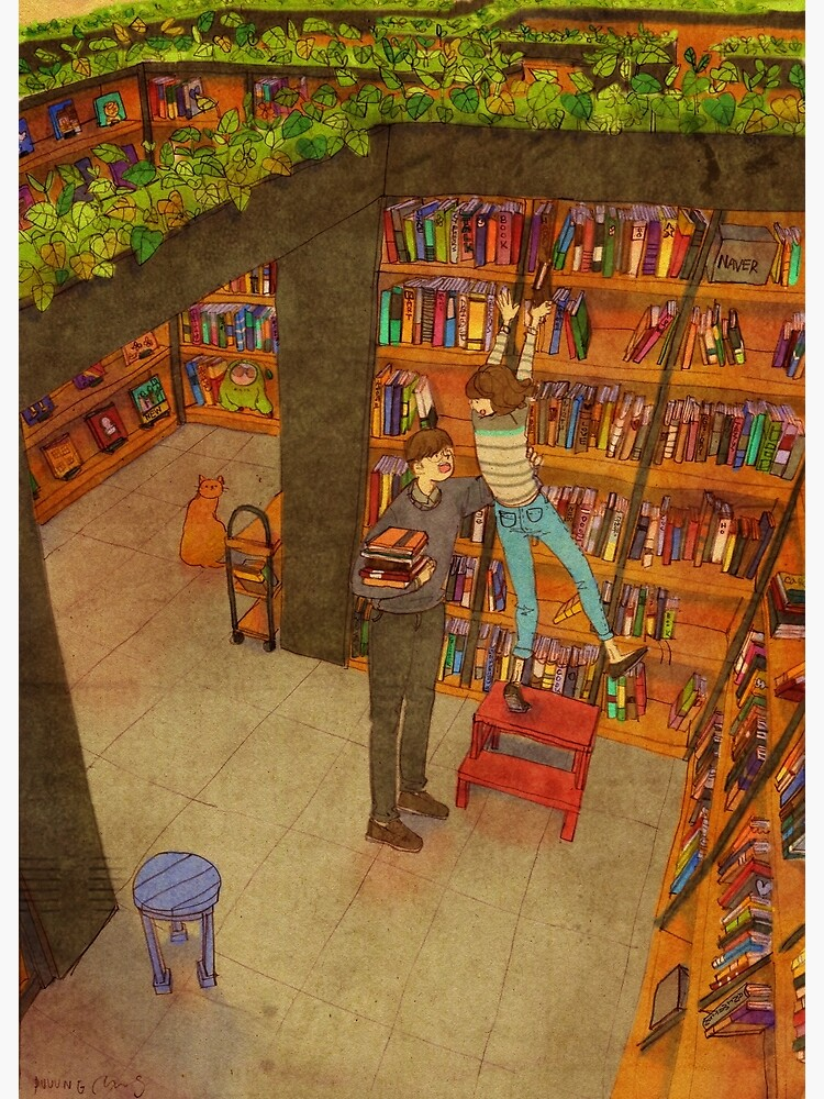Library by puuung1