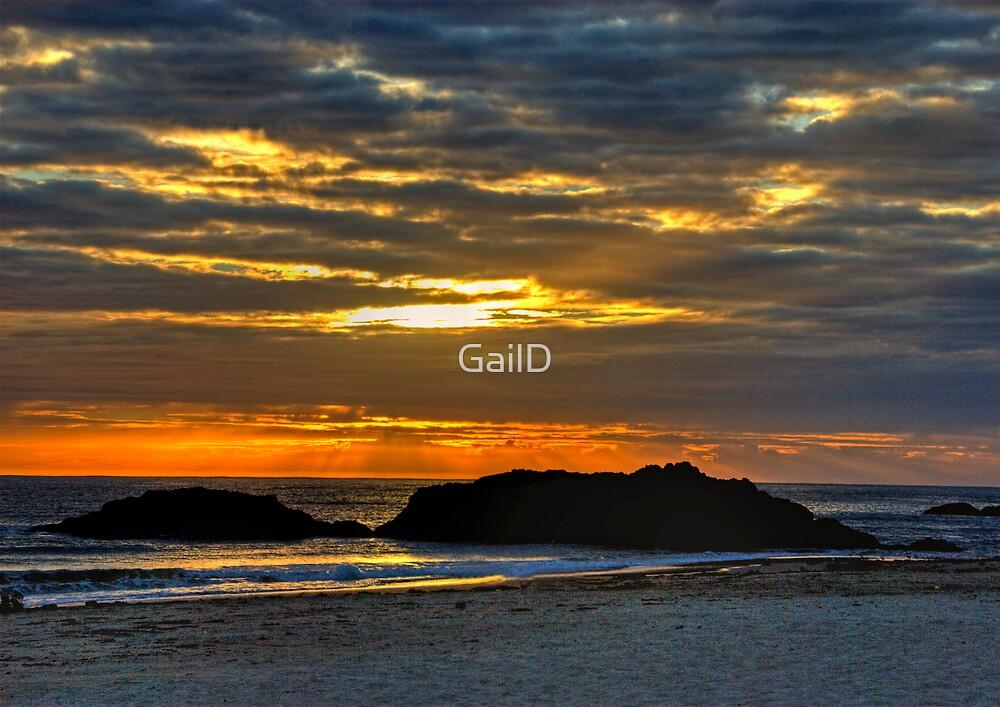 Sunrise @ Port by GailD