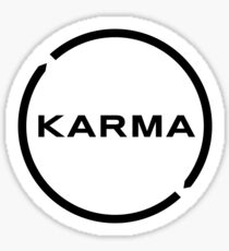 Karma Logo Sticker