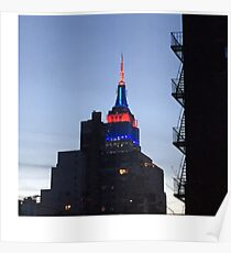 The Empire State Building  Poster