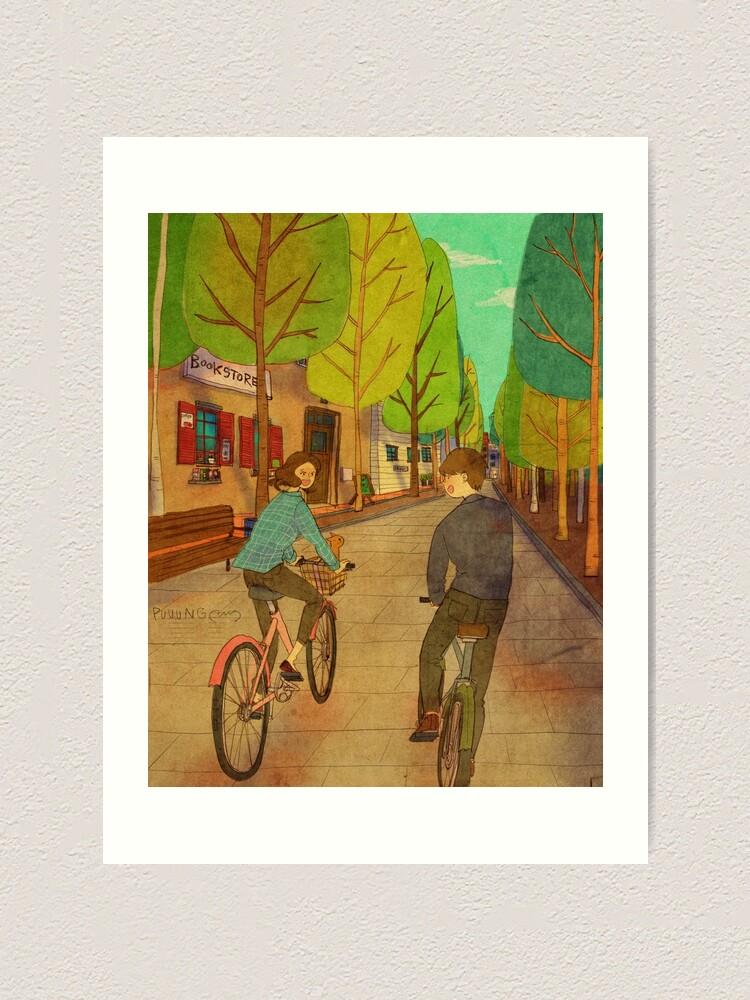 Alternate view of Bicycle Art Print