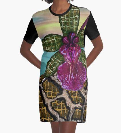 Sunset  Graphic T-Shirt Dress