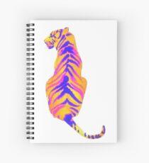 Retro color Animals Spiral Notebook