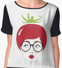 Sweet Tomato Women's Chiffon Top