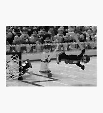 Bobby Orr and The Goal Photographic Print