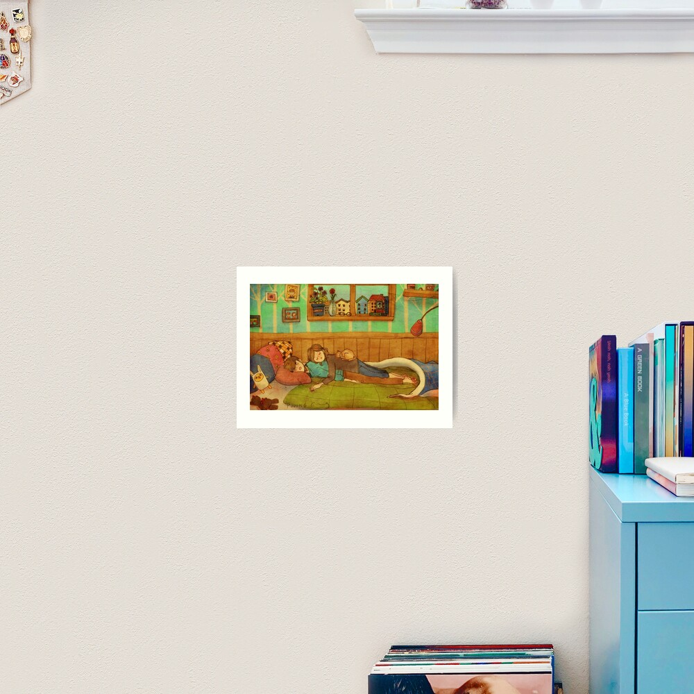 Soft and cozy Art Print