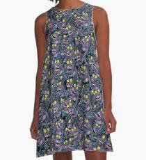 Sharkticon Swarm - SMALL A-Line Dress