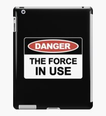 The Force In Use iPad Case/Skin
