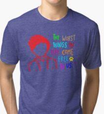 QUOTE OF ED SHEERAN Tri-blend T-Shirt