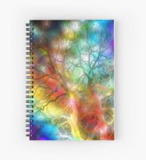 Psychedelic Storm Spiral Notebook