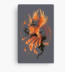 Avian Arsonist Canvas Print