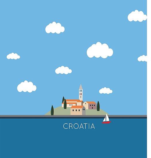 Segel Kroatien von CloverFi