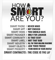 How Smart Are You Poster