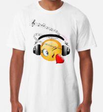 Personalised Emoji Long T-Shirt