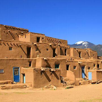 Pueblo De Taos by patmonty