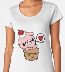 cute pig Women's Premium T-Shirt
