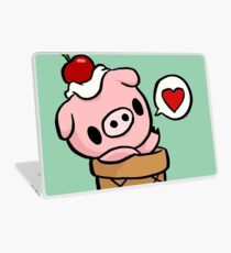 cute pig Laptop Skin