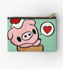 cute pig Studio Pouch