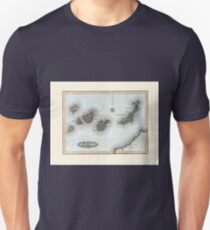 Vintage Map of the Canary Islands T-Shirt