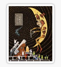 Space exploration Sticker