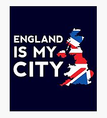 England Is My City Photographic Print