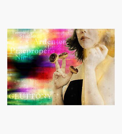 Gluttony Photographic Print