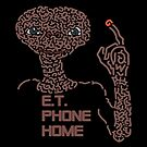 E.T. the extraterrestrial Phone Home by Karotene