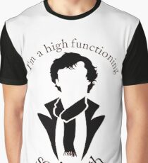 Sherlock - High Functioning Sociopath Graphic T-Shirt