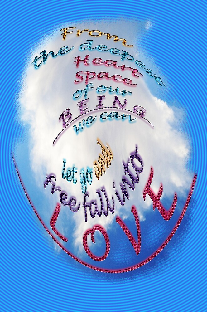 free fall in LOVE by TeaseTees