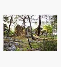 Old ancient ruins of Phaselis Photographic Print