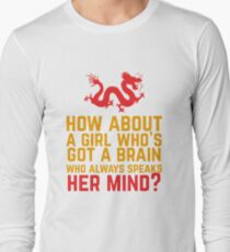 How About a Girl Who's Got a Brain? T-Shirt
