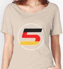 Sebastian Vettel Number 5 German Women's Relaxed Fit T-Shirt
