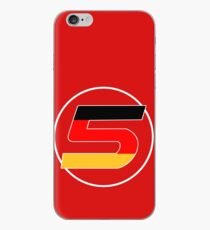 Sebastian Vettel Number 5 German iPhone Case