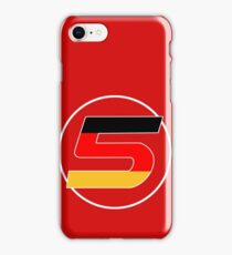 Sebastian Vettel Number 5 German iPhone Case/Skin