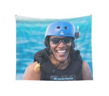 Obama Wall Tapestry