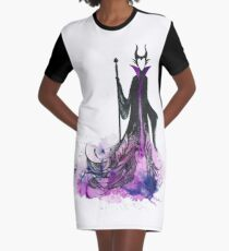 Maleficent Graphic T-Shirt Dress