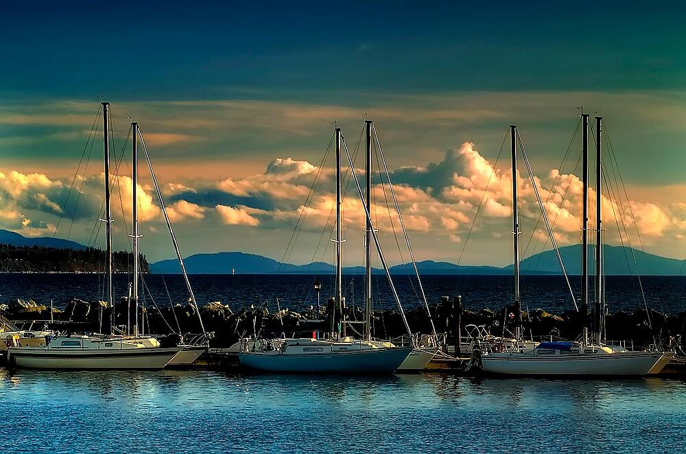 Sailing Boats by BrigitteC