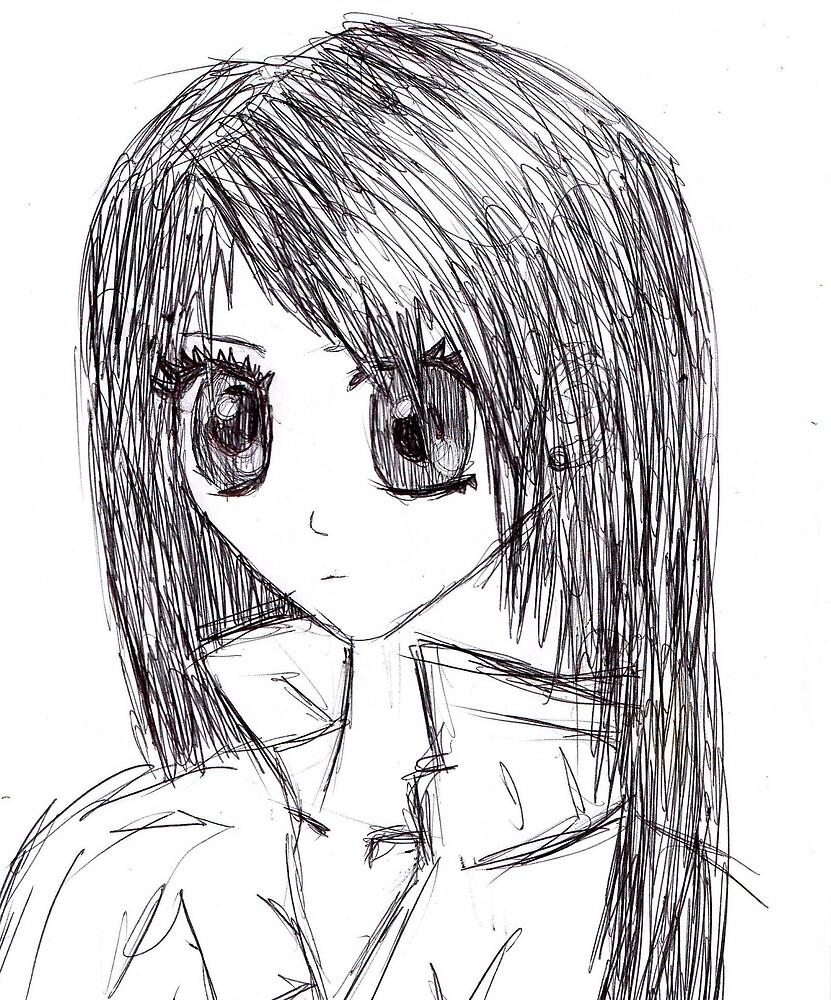 anime girl (: by jessinoble