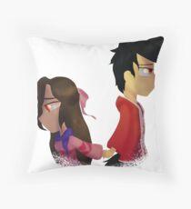 Aarmau Aaron x Aphmau Throw Pillow