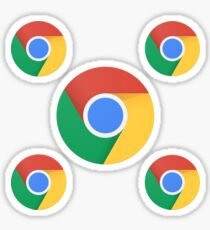 Google Chrome Sticker